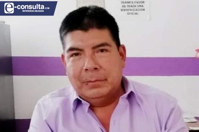 Muere edil auxiliar de Acoquiaco en Tehuacán por Covid-19