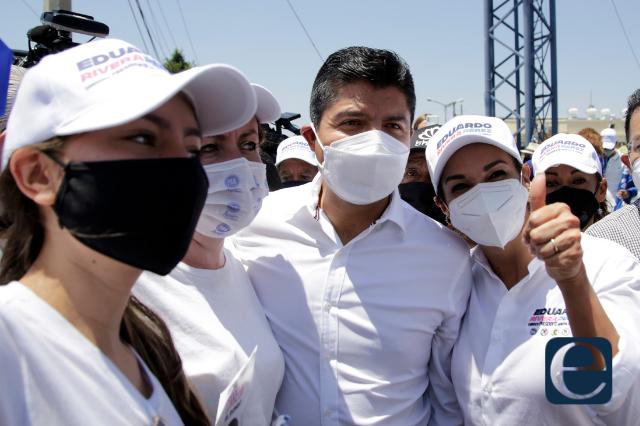 Partidos que apoyan a Eduardo Rivera se lanzan contra Morena