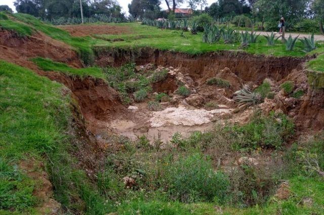 Se hunde la tierra ahora en municipio de la Sierra Norte