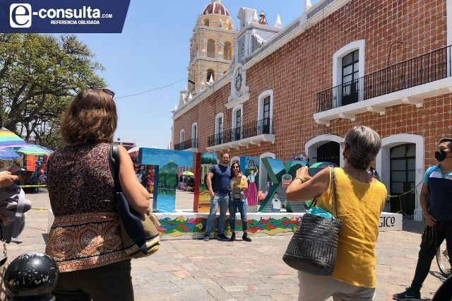 Fin de semana en Atlixco al tope de turistas pese a pandemia