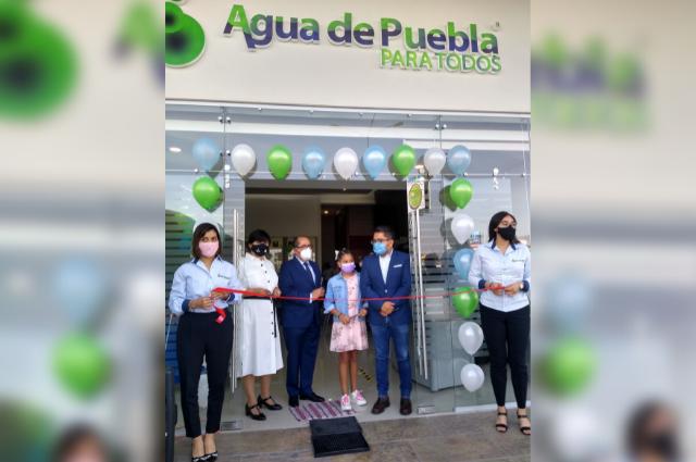 Agua de Puebla abre Módulo integral en Plaza Aventura