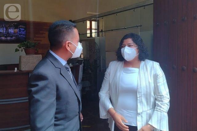 A puerta cerrada inicia entrega – recepción de San Andrés Cholula