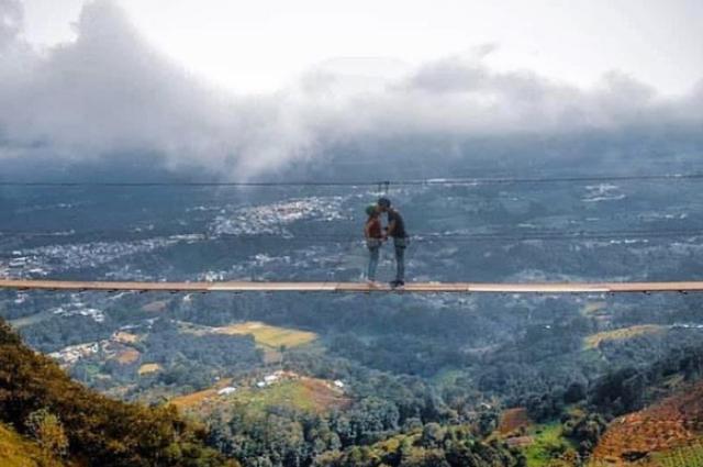 El puente colgante de Tlatlauquitepec, ¿ya lo conoces?