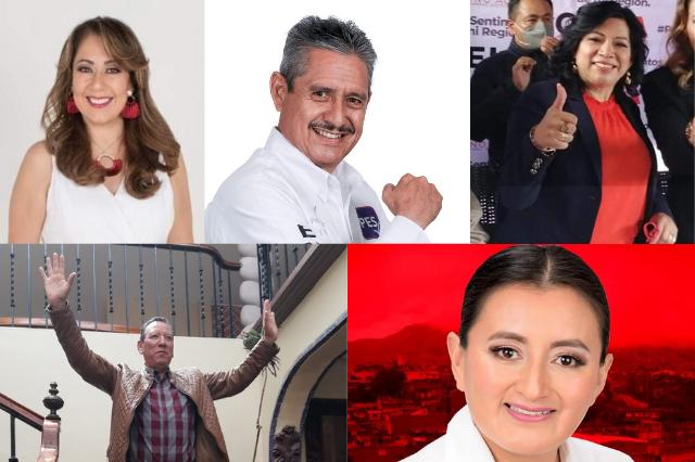 Seis candidatos buscan la diputación federal por Teziutlán