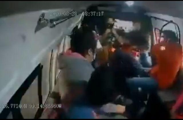 Asaltante mata a pasajero durante asalto en transporte público
