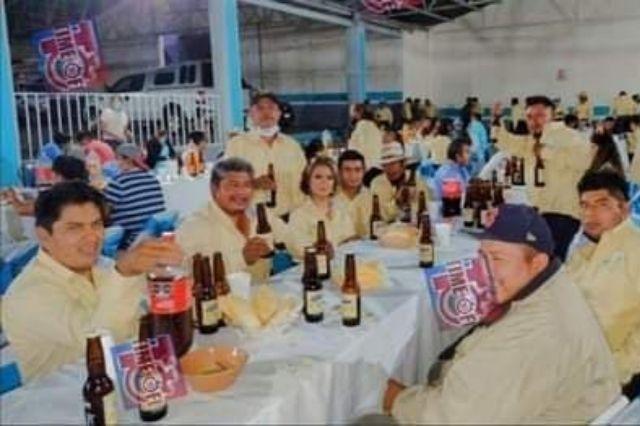 Con fiesta Covid celebran tiempos electorales en Tepanco