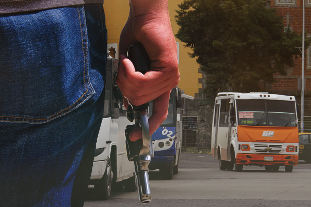 Sigue alza en asaltos a transporte, transeúntes y casas en la capital
