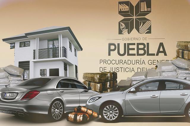 Puebla, tercer lugar del país en bienes asegurados por la PGR