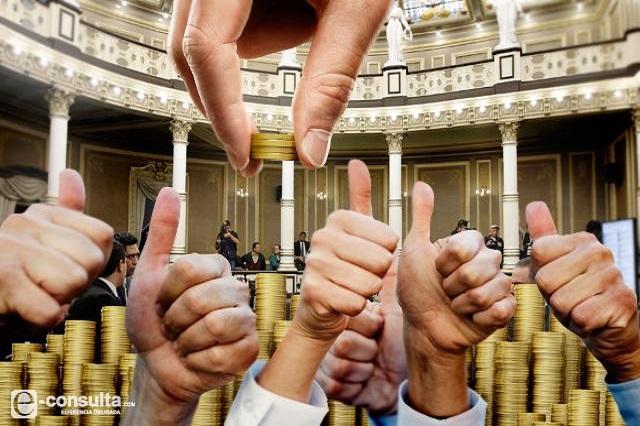 Diputados se aumentan 47% apoyos; toca 2.3 mdp a cada uno