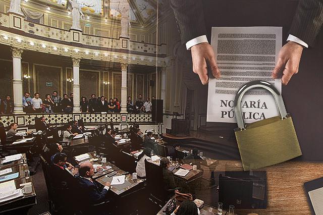 Pone Congreso candado a nuevas notarías y pide suspender reparto