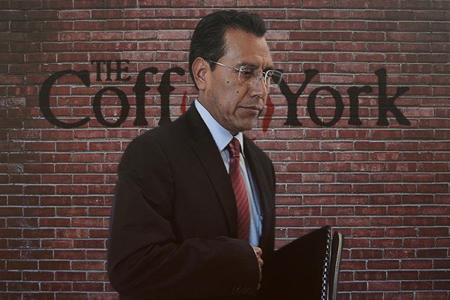 Facundo Rosas está hasta en el café… de Coffee York en Sonata