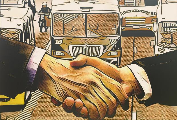 Concesionarios de RUTA no figuran en el padrón de transportistas