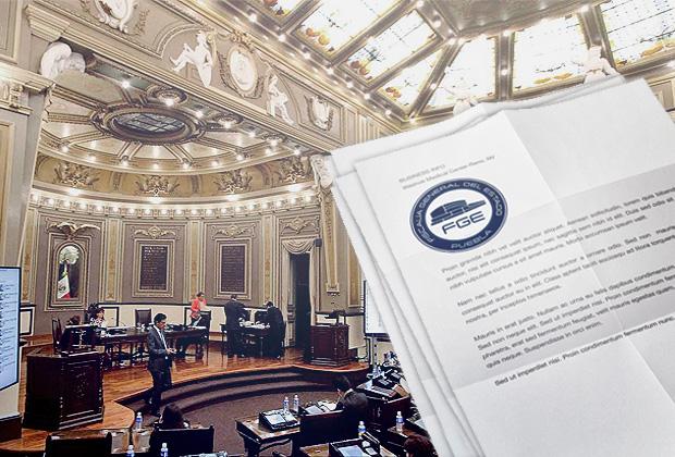 Plancha Congreso retirada del fiscal y le concede nombrar a su suplente