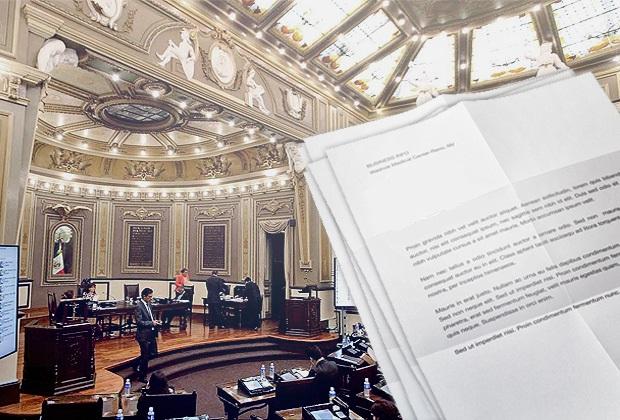 Alista Congreso discusión de 3 primeras iniciativas de Barbosa