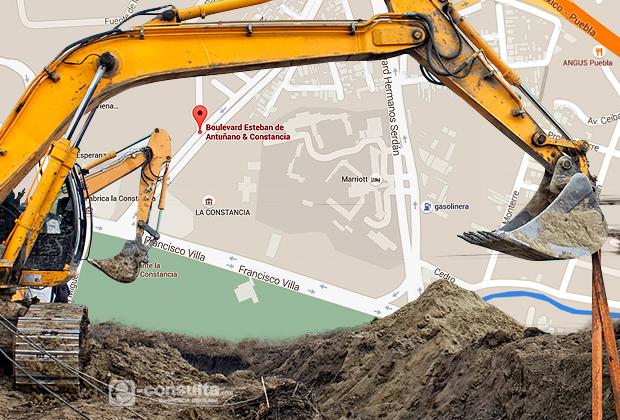 Más de 600 mdp suman obras en zona de La Constancia