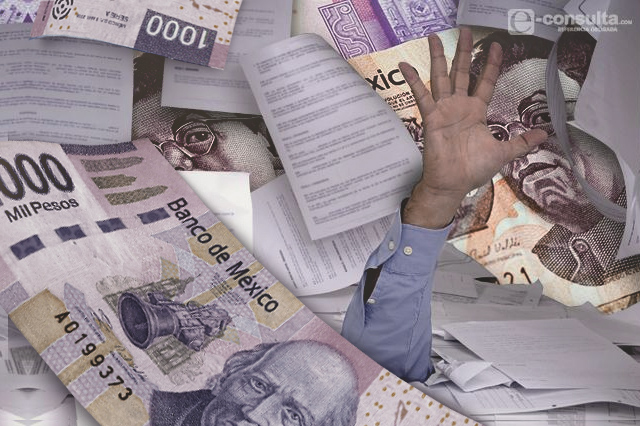 Tiene Puebla casi 21 mil mdp de deuda y pagos pendientes
