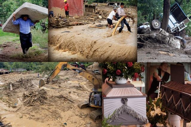 Llegan a 40 las muertes por Earl ; hay  daños en 26 municipios
