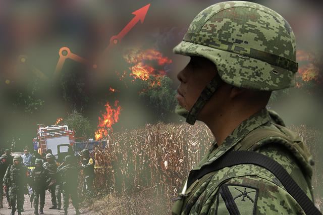 Suma el Ejército 7 ataques de huachicoleros en Puebla este año