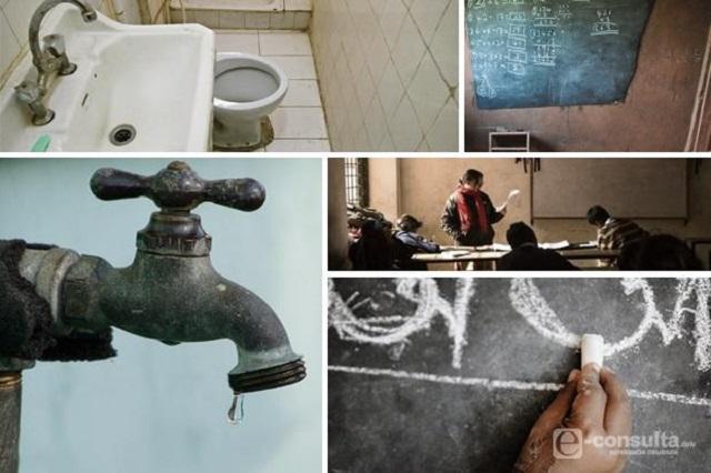 Enfrentan carencias 6 de cada 10 escuelas en Puebla: INEE