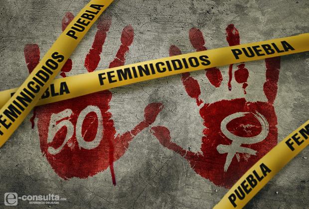 Padece Puebla 50 feminicidios en los últimos 14 meses