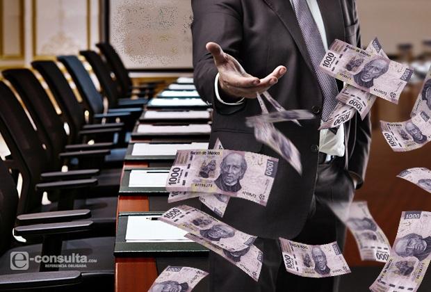A sueldos, la mitad del dinero destinado a municipios poblanos
