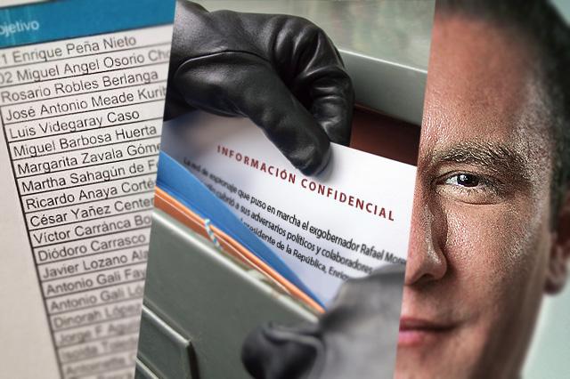 Exagente del Cisen acusa a RMV de espiar a EPN, Osorio y Meade