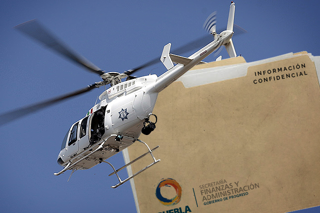 Reserva Finanzas gasto de vuelos del helicóptero de la Policía estatal