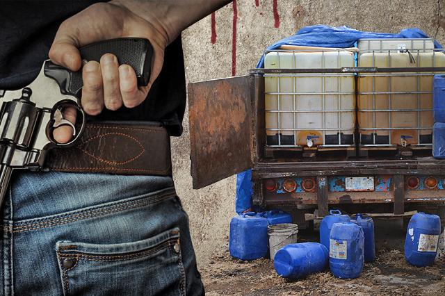 Lunes negro huachicolero deja 4 muertos y 8 heridos en Puebla