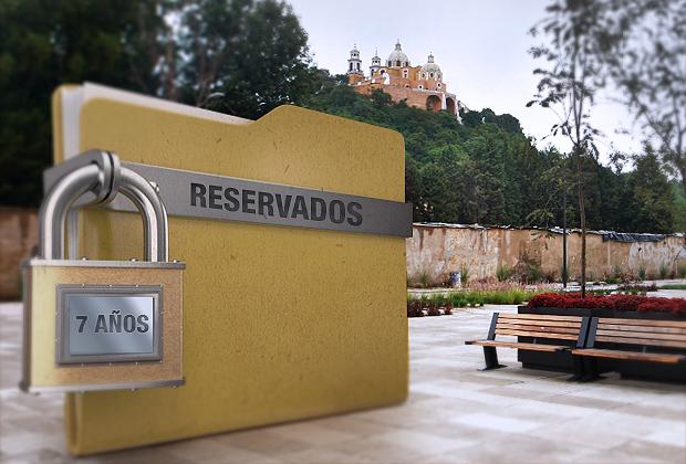 Reserva gobierno por 7 años expedientes de obras en Cholula