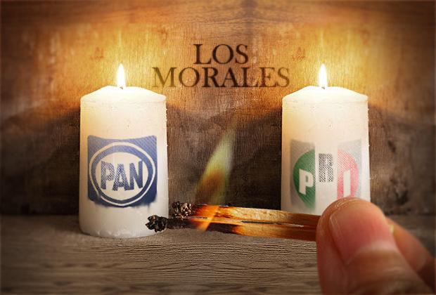 Los Morales no se quieren equivocar e irán con PRI y PAN