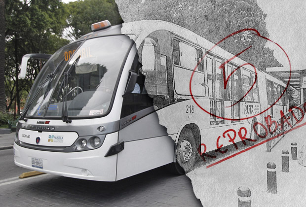 Reprueban al Metrobús y queda entre los 3 peores del país