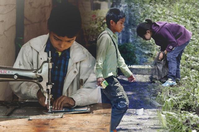 Puebla es la segunda entidad con más niños obligados a trabajar