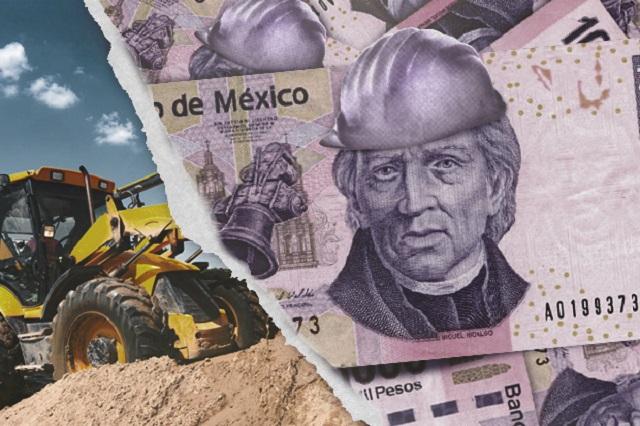 Cae en casi 1,000 mdp el gasto en obras federales para Puebla en 2017