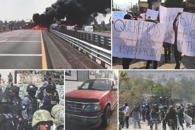 No todos somos huachicoleros, gritan enardecidos en Palmarito