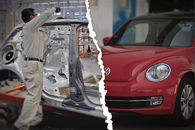 Se va el Beetle de Volkswagen y hay nuevo paro técnico de 4 días