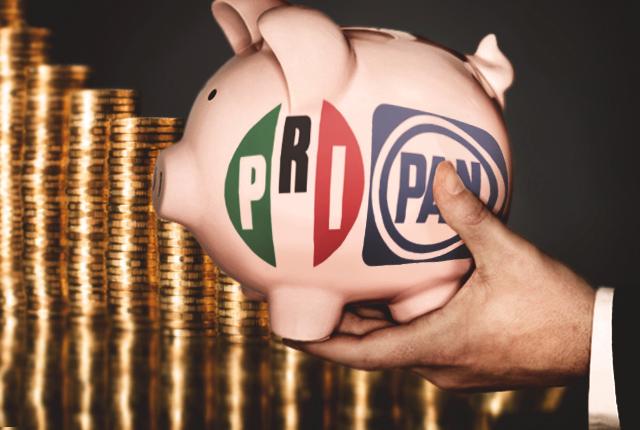 PRI y PAN son los ganones del presupuesto de Puebla en 10 años