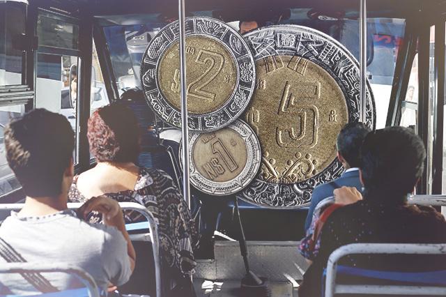 Subsidiaría Puebla al transporte público para evitar alza al pasaje