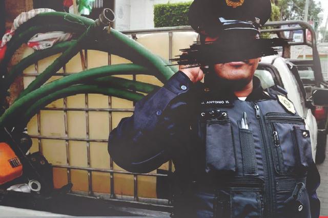 Policías y personal de Pemex al servicio del Toñín y El Ingeniero