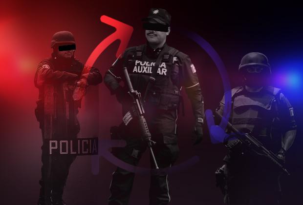 Reasignan a 1,500 policías estatales para patrullar la capital