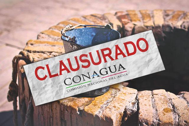 Cierra Conagua pozos ilegales y por surtir a pipas en Puebla