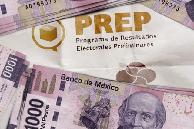 Puebla pagó el segundo PREP más caro de elección de junio