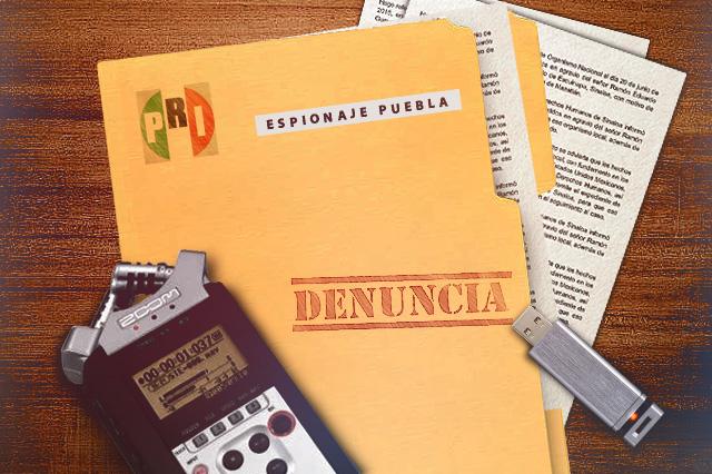 Duerme en la PGR denuncia por espionaje en Puebla hace un año