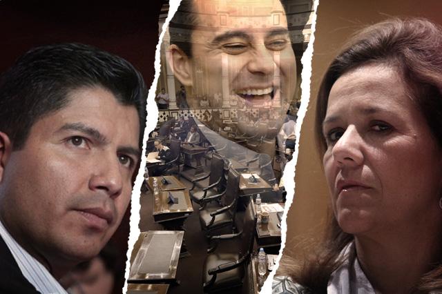 Congreso acusa corrupción y Zavala condena ataque a Rivera