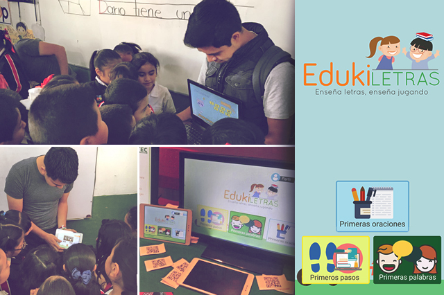 Estudiantes teziutecos diseñan una App para enseñar a niños a leer