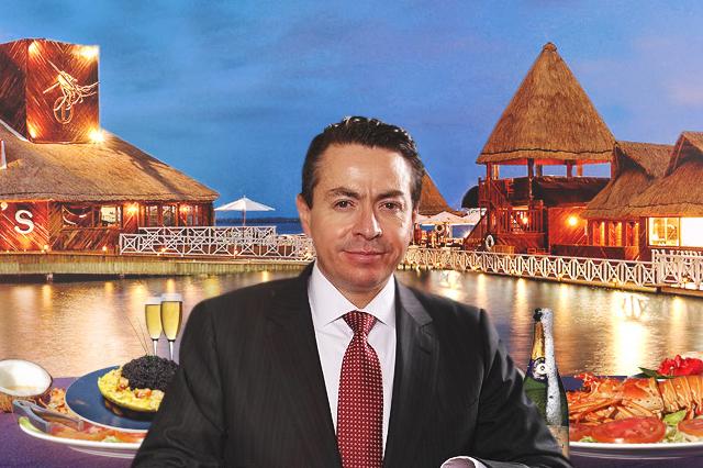 Exquisitez y glamour de Roberto Flores Toledano en Cancún