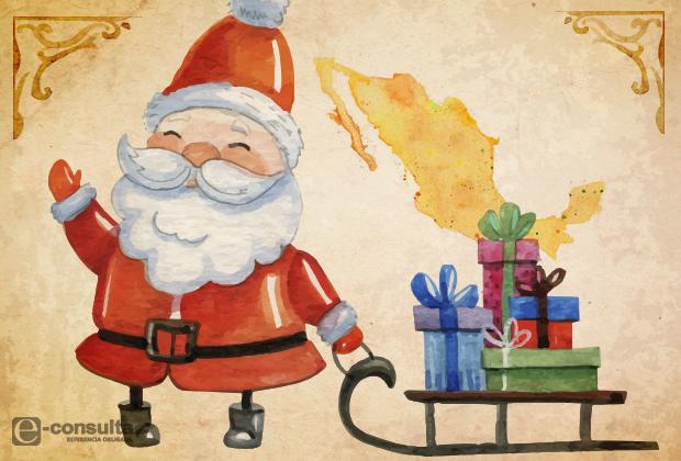 La mitad de los mexicanos cree en Santa y le pide regalos, según encuesta