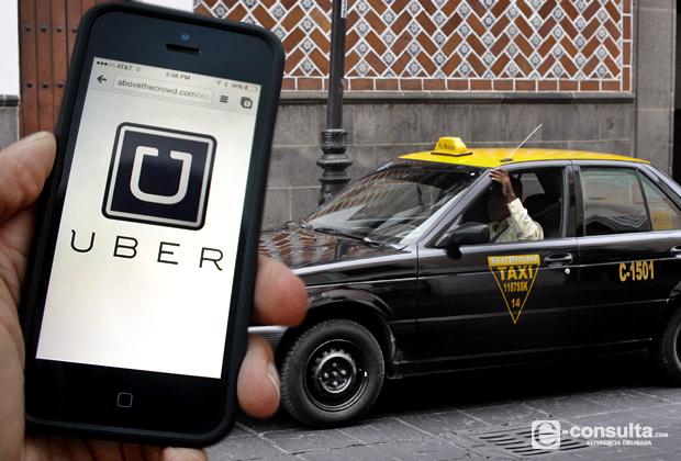 Resultado de imagen para taxis de puebla contra uber