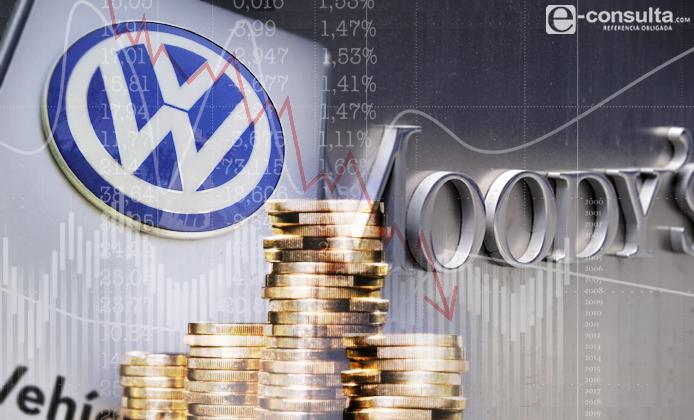 Degradan calificación de deuda a VW por escándalo ambiental