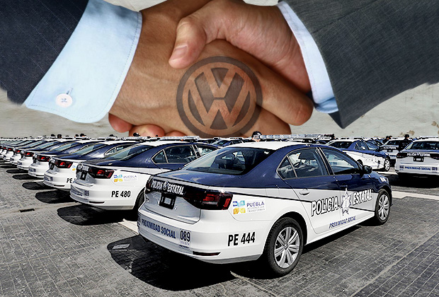 Desembolsa gobierno 52.1 mdp para comprar a VW 175 patrullas