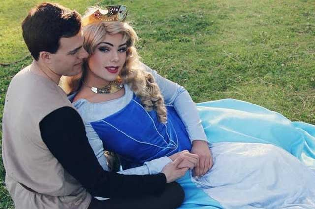 Joven impacta al maquillarse y caracterizar a las princesas de Disney